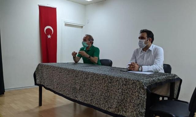 Sancaktepe Osmangazi İlkokulu'nda pandemiyle mücadele semineri düzenlendi