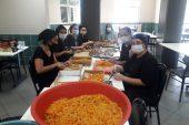 Sarıgazi Cemevi'nde Aşureler hazırlanıyor