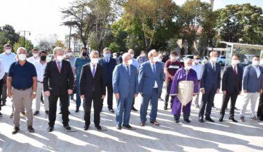 Başkan Albayrak Ahilik Haftası Çelenk Sunma Törenine Katıldı