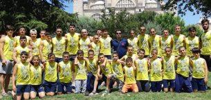 Sancaktepe'de Harun Doğan, sporcularının eğitimine önem veriyor