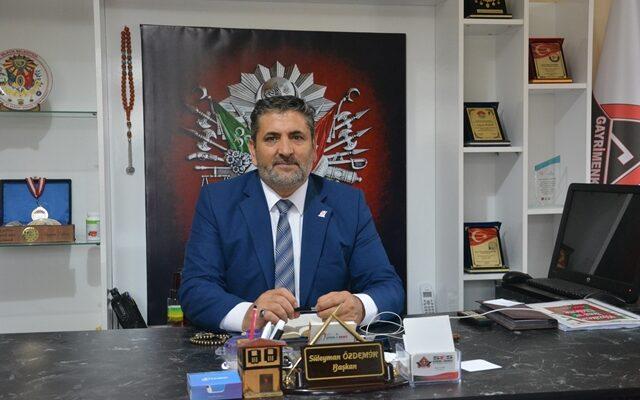 Süleyman Özdemir'in Yeni Yıl mesajı