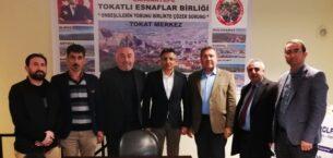 Sancaktepe'de Tokatlı Esnaflar Birliği Platformu kuruldu