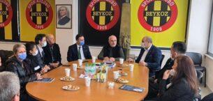 İYİ Parti'den Beykoz Spor Kulübü'ne ziyaret