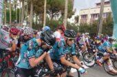 56. Cumhurbaşkanlığı Bisiklet Turu'nun 180 kilometrelik Marmaris – Turgutreis etabı koşuldu.