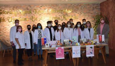 Tekirdağ'da Meme Kanseri Farkındalık Etkinliği' Düzenlendi