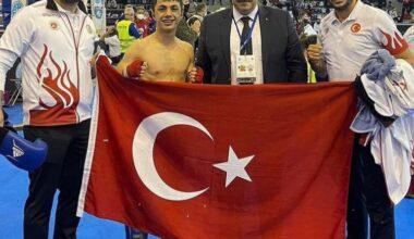 Sancaktepeli Sporcu Dünya Şampiyonu oldu